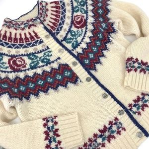 VTG Woolrich Woman Wool Mohair Cardigan Heritage